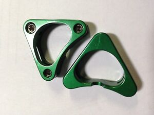 Brake Cable Hangers for straddle wire Aluminum Sold in pairs Anodized 4 grams