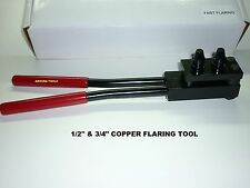 "FLARING TOOL FOR 1/2 & 3/4"" COPPER TUBE- FAST FLARE - NEW."