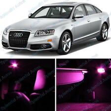 Pink Interior LED Package For Audi A6/S6 C6 2005-2012 (12 Pieces) #735