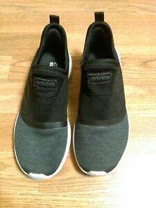 Adidas Ortholite Float Racer Lite Slip On Sneakers Black Gray Women's 6.5. 1z