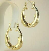 18K Gold Plated Dolphin Earrings - LIFETIME WARRANTY