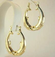 18K Gold Plated Dolphin Earrings - LIFETIME WARRANTY