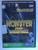 MONSTER FROM GREEN HELL DVD All Regions Jim Davis Like NEW Horror Remastered