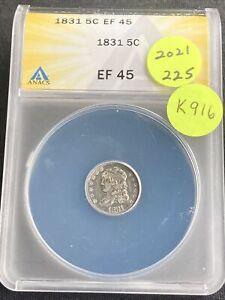 1831 Half Dime K916