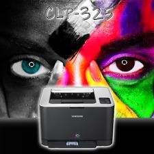 SAMSUNG Farblaserdrucker CLP-325 ohne Toner im Austausch