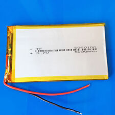 5000mAh 3.7V Li Po Battery 6060100 for Tablet PC DVD Power Bank Cell Phone PAD