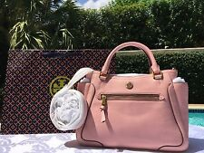 TORY BURCH FRANCES SMALL SATCHEL ROSE SACHET NWT $485 & GIFT BAG-SOLD OUT