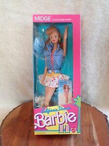 1987 Vintage California Dream Barbie MIDGE Doll NRFB #4442