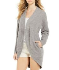 Ugg Fremont Fluffy Sweater Lounge Knit Cardigan Grey Small NWT $98