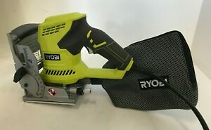 Ryobi JM83K 6 Amp AC Biscuit Joiner with Dust Collector, GR