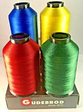 NEW Gudebrod Nylon Rod Winding Thread Scarlet Yellow Blue Green 4 oz Spools