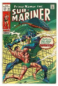 Sub-Mariner -  No 10 - 1969 HIGH GRADE! SCARCE!!