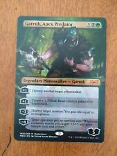 1 x MTG Garruk, Apex Predator - Foil War of the Spark Mythic Edition - NM-Mint,