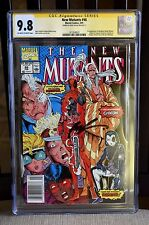 NEW MUTANTS 98, Newsstand Edition CGC SS 9.8 - ROB LIEFELD SIGNED!!! -