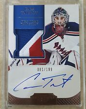 2011-12 Dominion #159 Cam Talbot Cup Rookie Auto 3 Clr Patch 81/199 Holy Grail