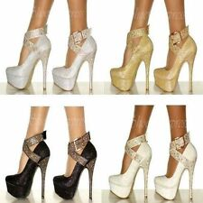 """Synthetic Very High (greater than 4.5\) Women's Heels"""""""