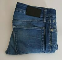 Jack Jones Tim Slim Fit Mens Jeans 32x32 W32 L32 Blue Waist 32 Leg 32 Stretch