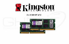 Kingston 2 x 4GB MB1066K2/8G RAM Kit of 2 1066Mhz für Apple MacBook / iMac