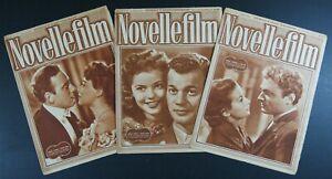n°35 riviste NOVELLE FILM 1949 settimanale di racconti cinematografici 16 pagine