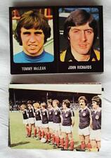 55x FOOTBALL 79/80 STICKERS BY TRANSIMAGE EXCELLENT CONDITION 1979 1980 NOT CUT