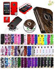Motorola Moto E5 Play / Cruise TUFF HYBRID Armor Rubber Rugged Case Phone Cover