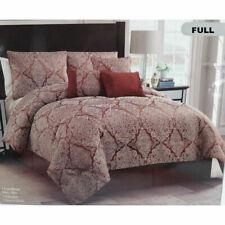 Victoria Classics Berkley Jacquard Comforter 7 Piece Set - Spice, Full