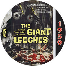 """Attack of the Giant Leeches (1959) Sci-Fi and Horror NR CULT """"B"""" Movie DVD"""