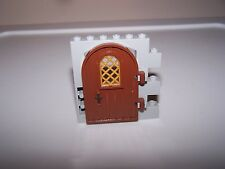 LEGO® CASTLE minifigure DOOR WALL lot brown grey lotr hobbit knight element arch