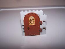 LEGO® CASTLE minifigure DOOR WALL lot brown grey lotr hobbit knight element arch