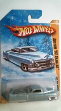 2009 Hot Wheels 15/190 New Models Custom '53 Cadillac SNOWFLAKE - Blue