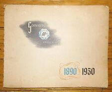 SCHNEIDERS 60TH ANNIVERSARY  J. M. Schneider Ltd Toronto 1950 Book Meats CNE