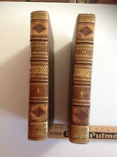 Livres anciens, Oeuvres mêlées de Saint Lambert 1795 (2 tomes)