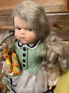 Lenci Rosamunda Doll Wheat Hat Original Tagged Beautiful!