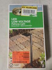 HamptonB. Low-Voltage 10-Watt Equivalent Bronze Outdoor Integrated LED Landscape
