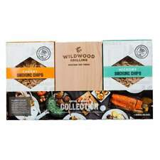 Grilling Gift Set - Grilling Planks + Smoking Chips Sampler Pack -Grillers Chefs