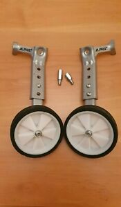"""Alpha Plus (+) Adult Bicycle Stabilisers to Fit to 20""""-26"""" Rear Wheel Bike"""