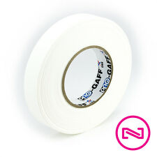 """ProTapes Pro Gaff WHITE GAFFERS TAPE 1"""" x 60 yd Roll"""