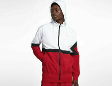 37b3fbba99d9 Mens Air Jordan Diamond Track Jacket AQ2683-100 White Red NEW Size 2XL