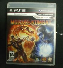 Replacement Case (NO GAME) MORTAL KOMBAT  PLAYSTATION 3 PS3