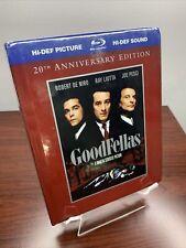 GoodFellas Digibook (Blu-ray+DVD, 2010, 2-Disc Set, 20th Anniversary Edition)