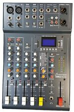 Studiomaster Club XS 6 Mixer with FX - USB/SD Card Record/Playback + Bluetooth