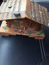Old Antique House Music Box