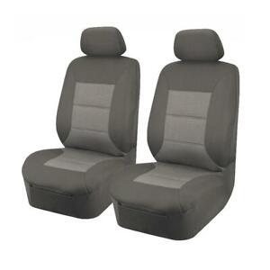 Premium Car Seat Covers for Ford Falcon FG Sedan/Wagon Fronts BLACK