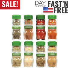 McCormick Gourmet Organic Spice Rack Refill Variety Pack, 8 count......