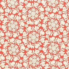 Michael Miller Strawberry Moon Petit Henna Garden Coral Fabric BHY