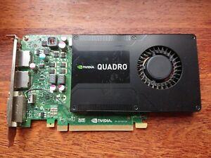 NVIDIA Quadro K2200 4GB GDDR5 Workstation 2X DisplayPort DVI Video Card