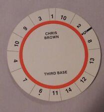 Vintage CHRIS BROWN GIANTS  CADACO DISC  1980s