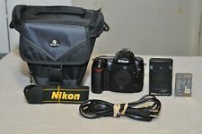 Nikon D90 12.3 MP Digital SLR Camera ( Body Only) w/ New Bag__Very low Clicks!!!