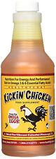 Healthy Coat Kickin Chicken Weight Gain Energy Muscle Supplement 16 oz