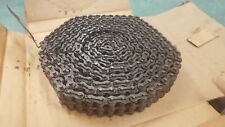 #40-2-C ROLLER CHAIN Double Strand 10FT NEW USA(ATLAS) W/FREE CONNECTOR LINK